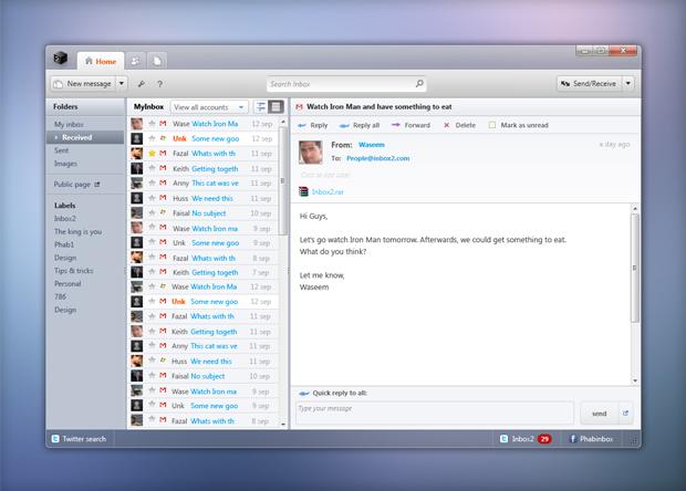 inbox2 desktop